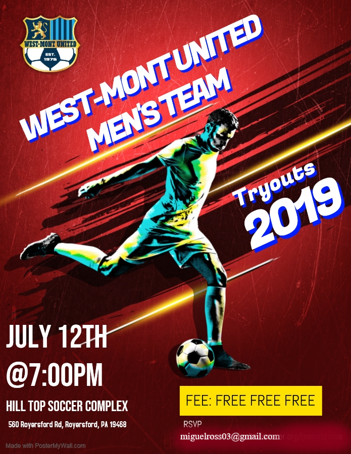 Men's 2019 Tryouts